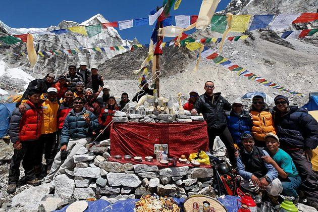 Cerimônia Puja