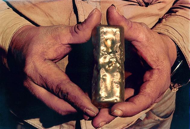 Ouro na Serra Pelada