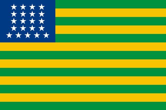 Primeira bandeira brasileira