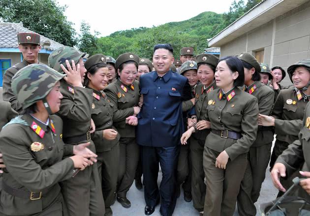 Kim Jong Un militar