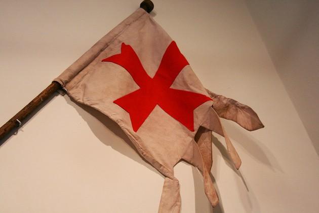 bandeira dos Templários