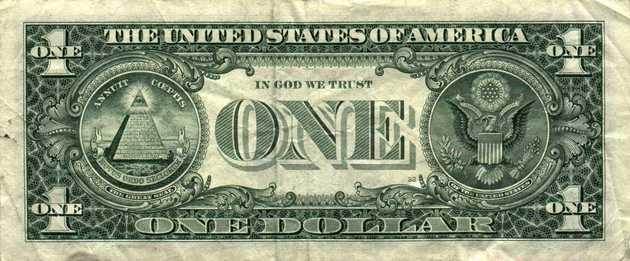 Um dólar Illuminati