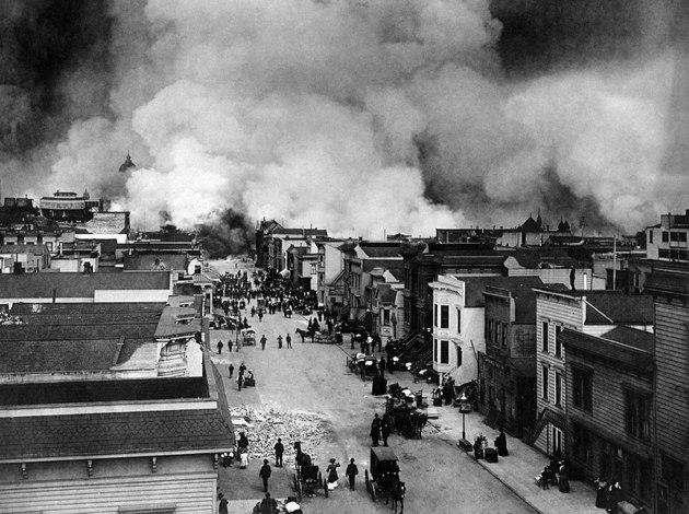 Terremoto em San Francisco em 1906
