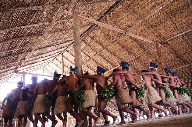 ocas de tribos indígenas