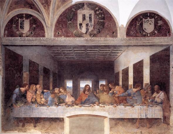 A Última Ceia, Leonardo da Vinci. Fonte: Blog Paper Blanks