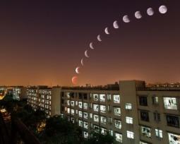 De quanto em quanto tempo acontece o Eclipse Lunar