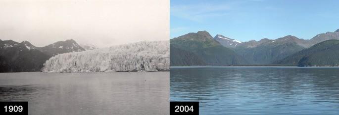 Glaciar McCarty, Alasca.