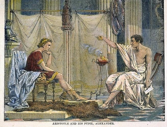 Alexandre e Aristóteles