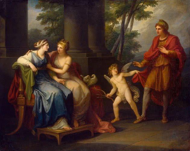 Helena e Afrodite