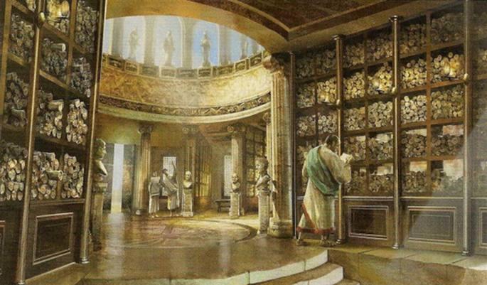 Biblioteca de Alexandria