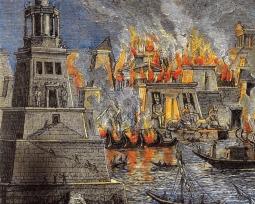 O que a humanidade perdeu no incêndio da Biblioteca de Alexandria?