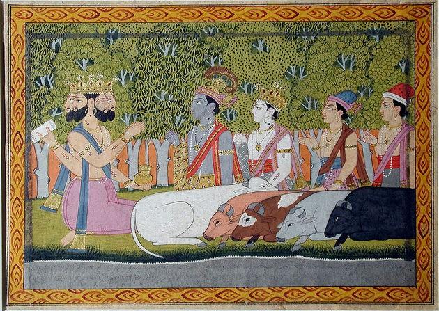 Brahma e a criação