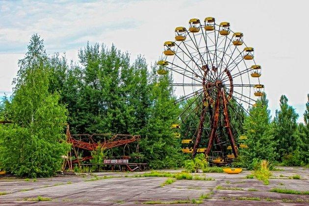 A famosa roda gigante de Pripyat