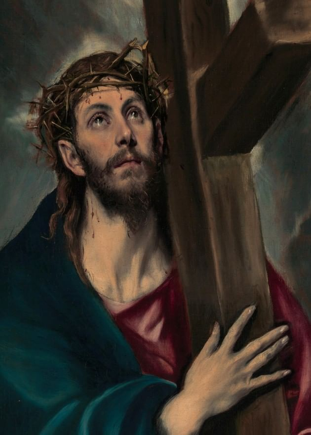 El Greco's Jesus Carrying the Cross