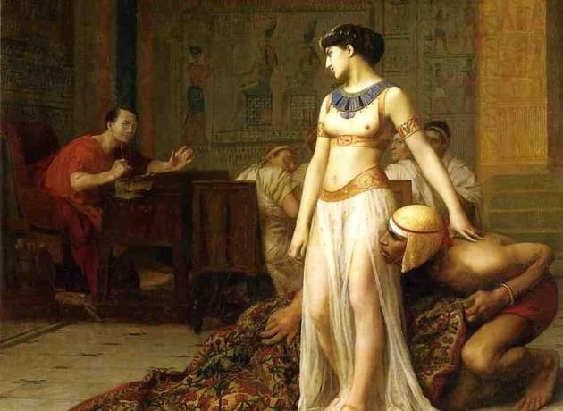 Cleópatra e Júlio César