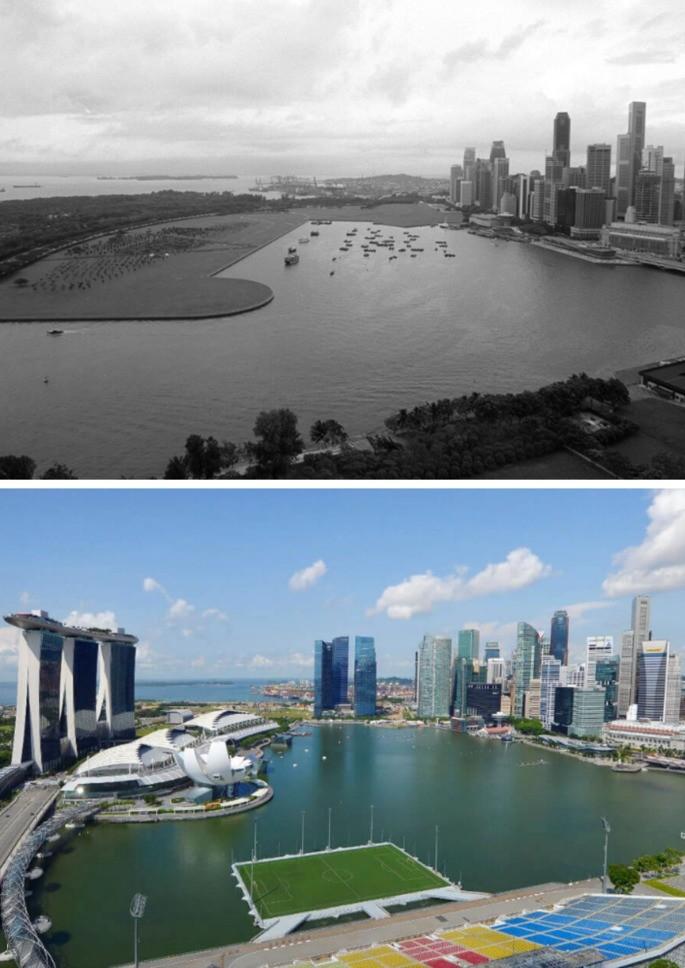 Complexo Marina Bay. Singapura