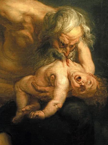 Cronos devorando seu filho