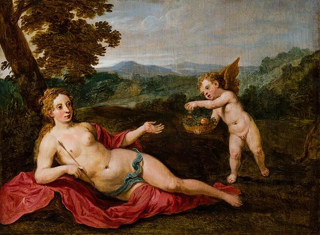Afrodite e Eros