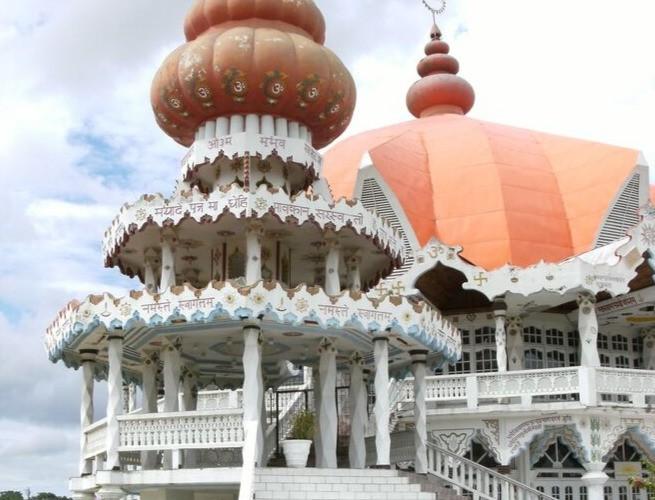 Templo hindu em Paramaribo