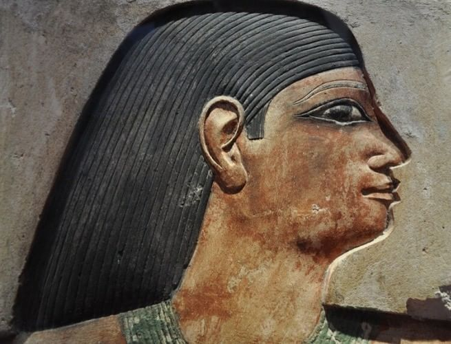 Afresco de Tutankamon