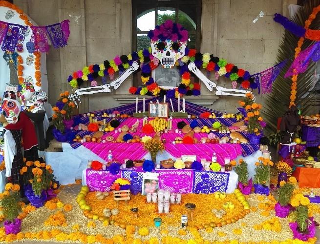 Altar no Día de los Muertos