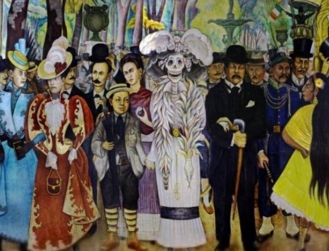 Catrina de Diego Rivera