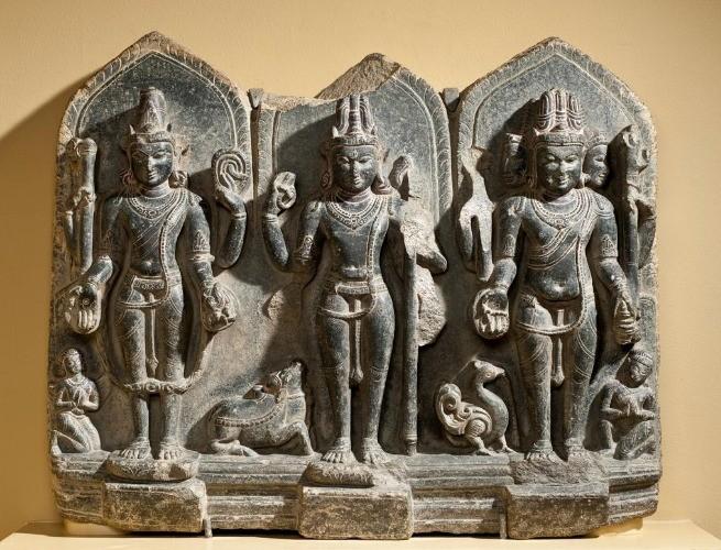Vishnu, Shiva e Brahma