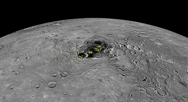 Gelo em Mercurio