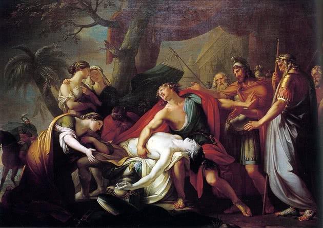 Aquiles e Pátroclo