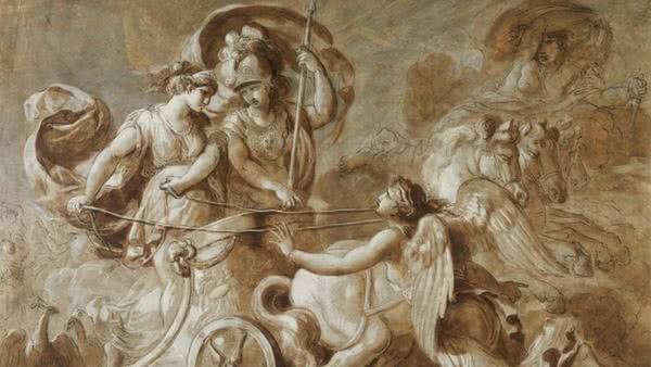 Hera e Atena_Guerra de Troia