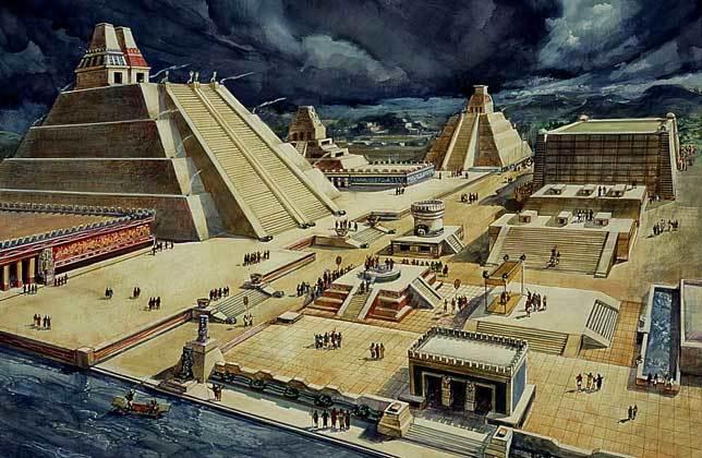 astecas Tenochtitlán