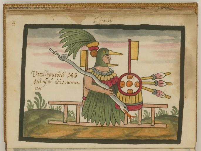 deus asteca