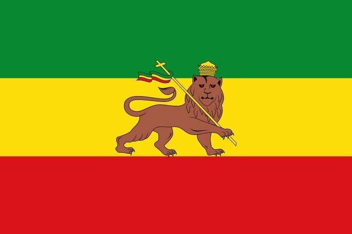 Bandeira rasta