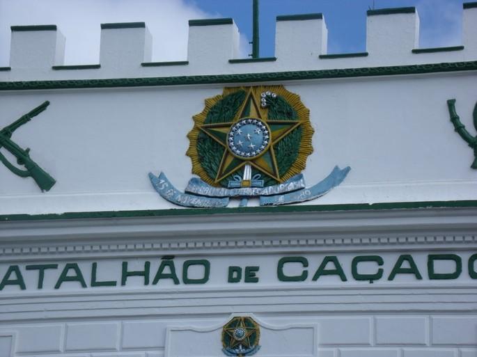 brasão de armas Batalhão de Caçadores Piauí