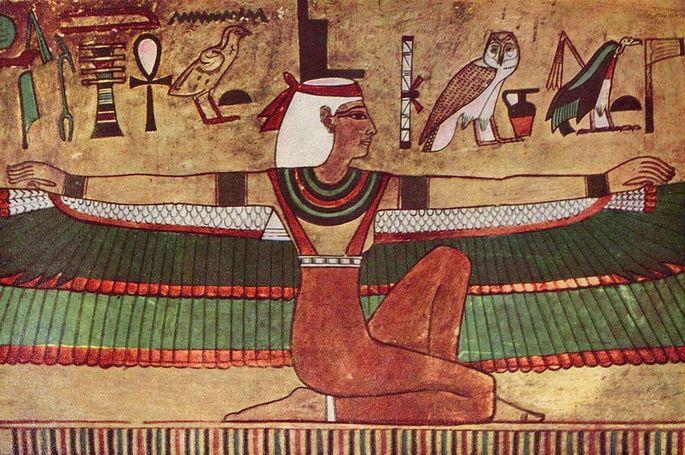 Ísis deusa egípcia