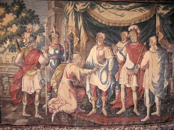 Joana Darc e o rei Carlos VII