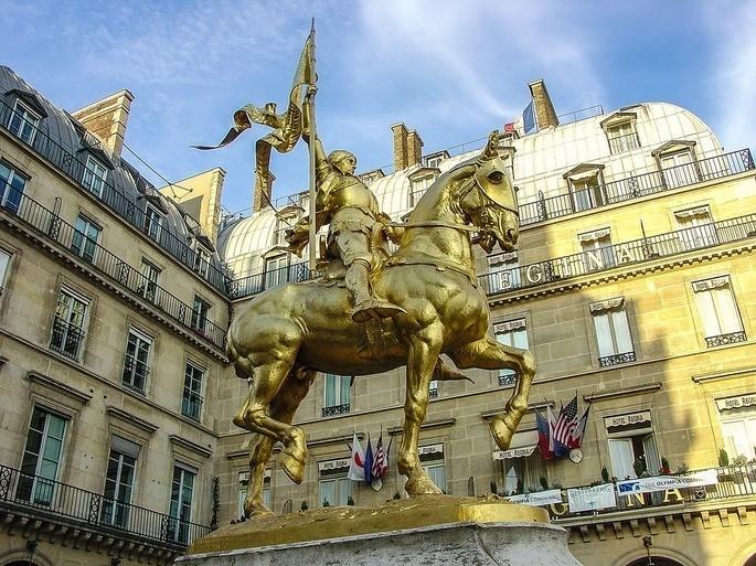 Estátua de Joana Darc