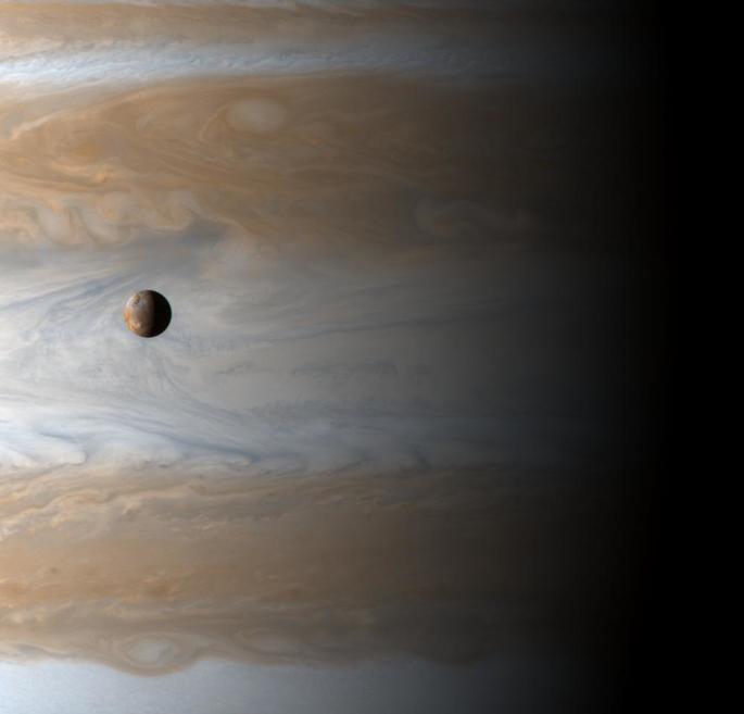Io e Júpiter