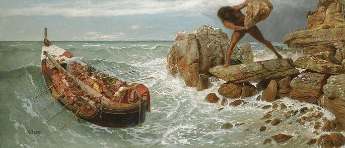 Odisseu e Polifemo