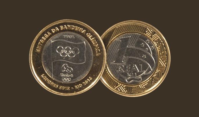 moeda olimpíadas 2016