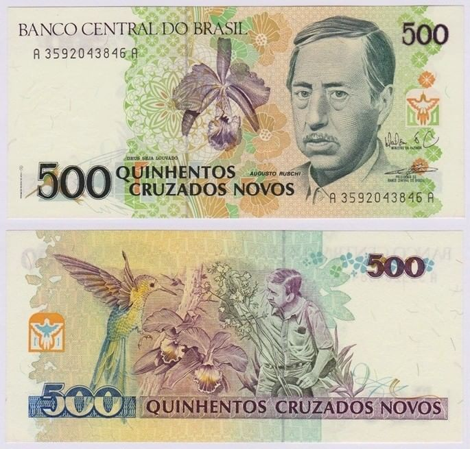 cruzado novo moedas do Brasil