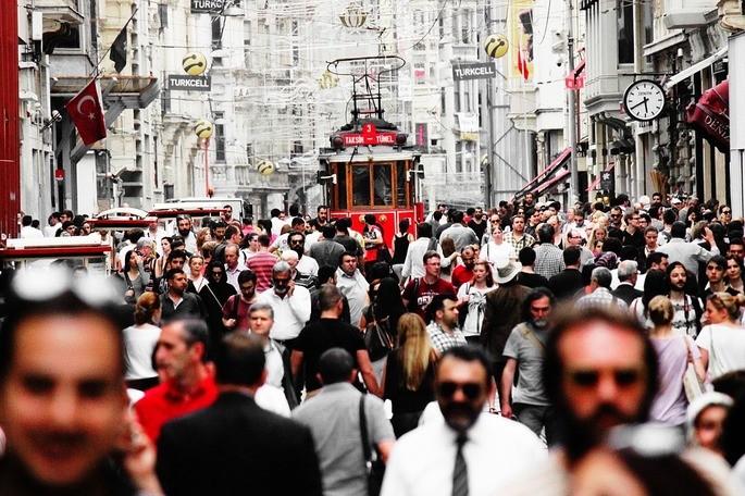 População multidão
