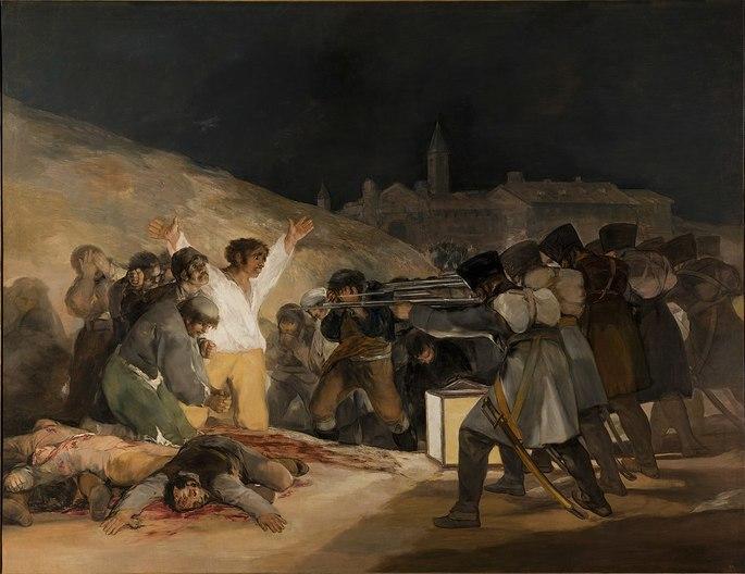 Três de Maio de 1808 em Madri