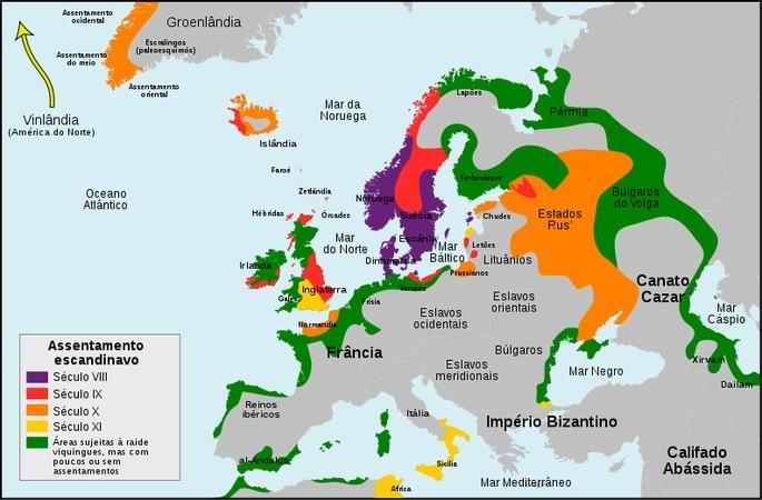 expansão viking