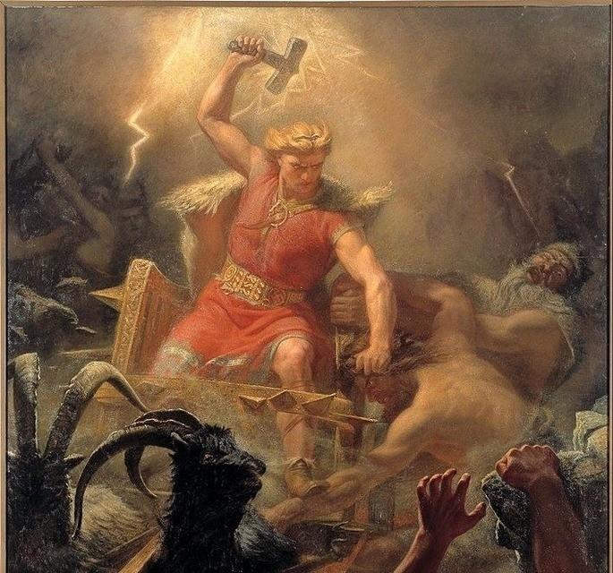 Thor deus viking