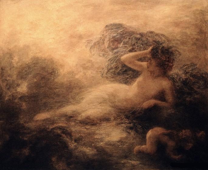 Pintura 'Nix' de Henri Fantin-Latour (1897).