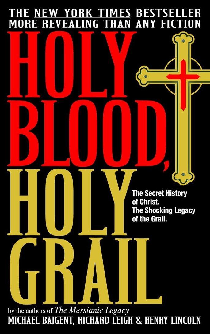 O livro 'O Santo Graal e a Linhagem Sagrada' aborda a teoria de que o Santo Graal é na realidade a linhagem de sangue de Jesus Cristo.