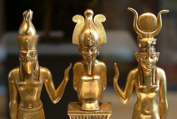 Horus, Osiris e Iris