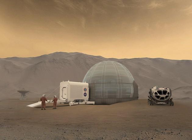 Colonização Marte