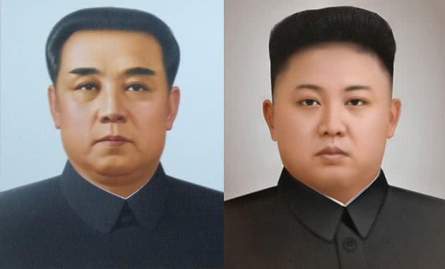 Kim Il Sung e King Jong Un